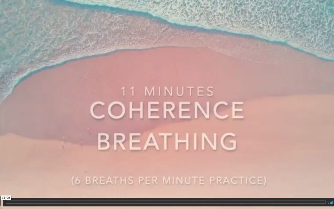 coherence breathing – 6 breaths a minute