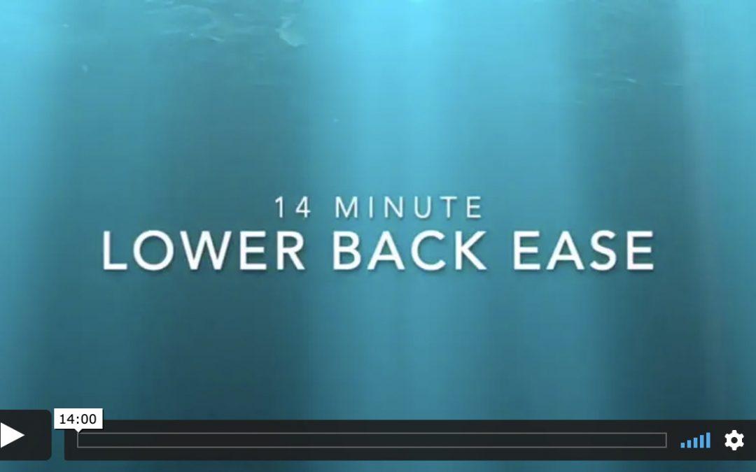 Lower Back Ease