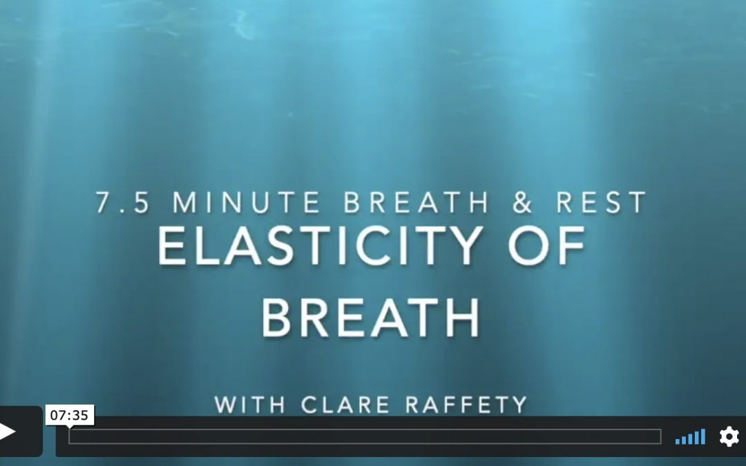 Elasticity of Breath