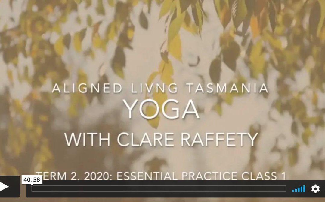 Elemental Yoga: Space, Essential Practice