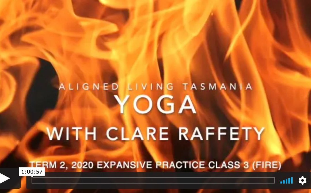 Elemental Yoga: Fire, Expansive Practice