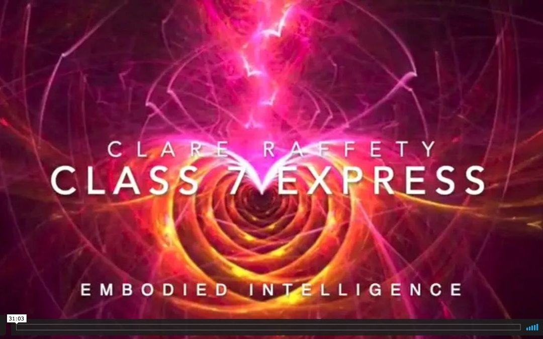 Neuroscience informed practice Express session 7: Embodied Intelligence