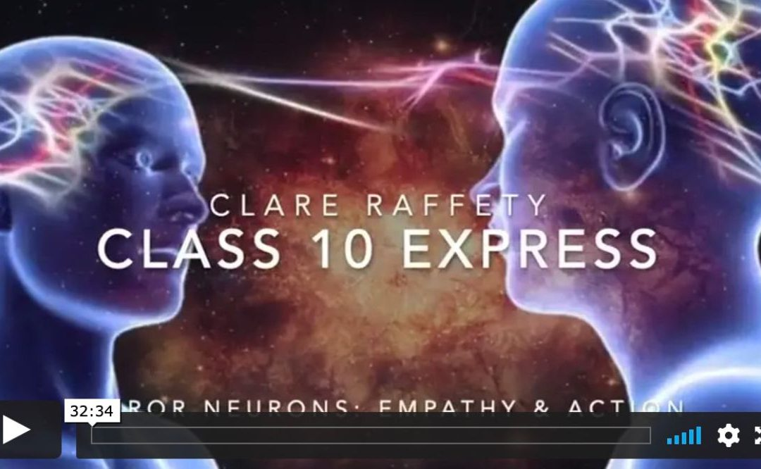Neuroscience informed practice Express session 10: Mirror Neurones, Empathy & Action