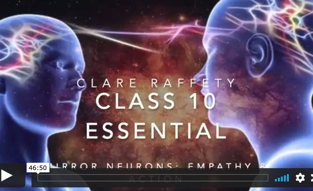 Neuroscience informed practice Essential session 10: Mirror Neurones, Empathy & Action