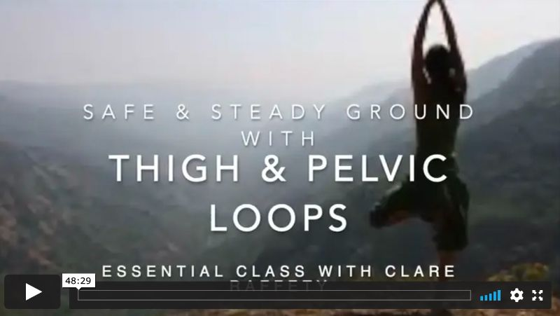 Thigh & Pelvic loops, Feeling Connected, Essential Session
