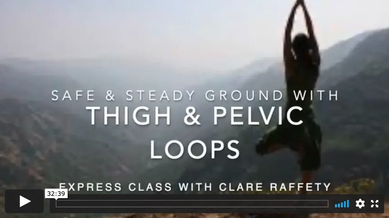 Thigh & Pelvic loops, Feeling Connected, Express Session