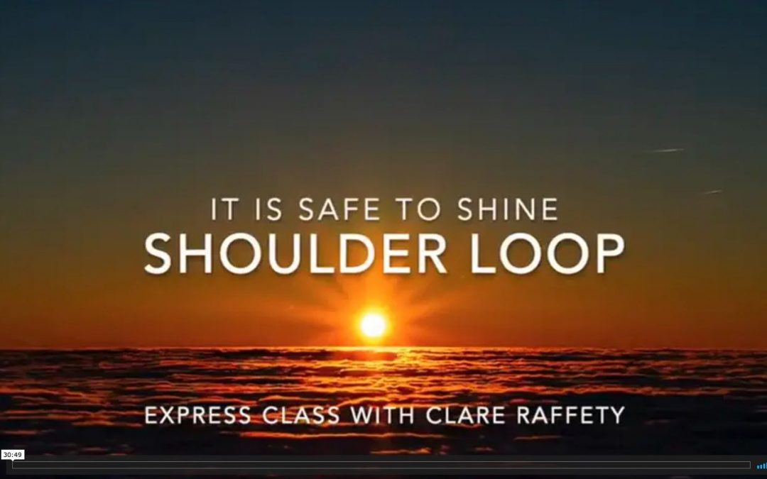 Shoulder loop, it is safe to shine: Express Session