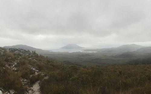 Tasmania-Foggy