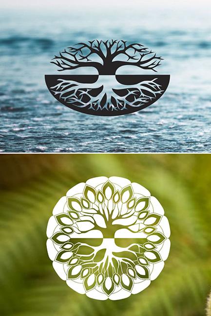 Aligned Living Tasmania Logo History