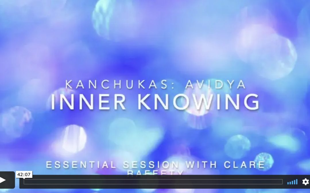 Kanchukas: Inner knowing. Essential session