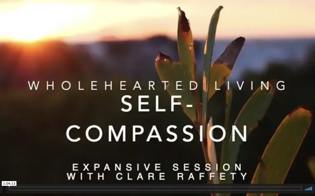 Wholehearted Living. Resilience. Expansive session