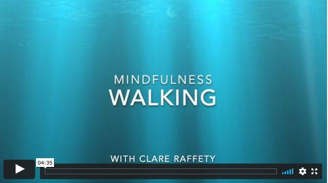 mindfulness: walking