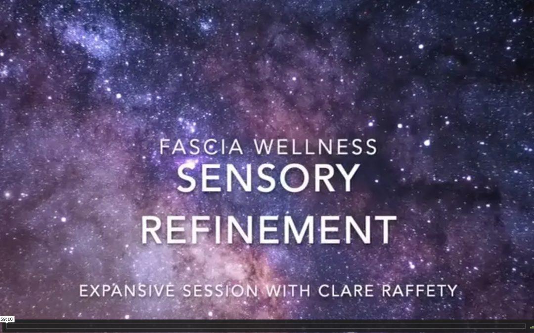Fascia Wellness: Sensory Refinement. Expansive session