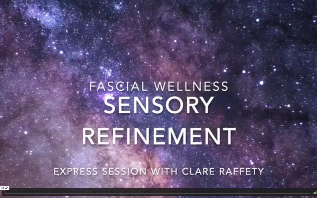 Fascia Wellness: Sensory Refinement. Express session