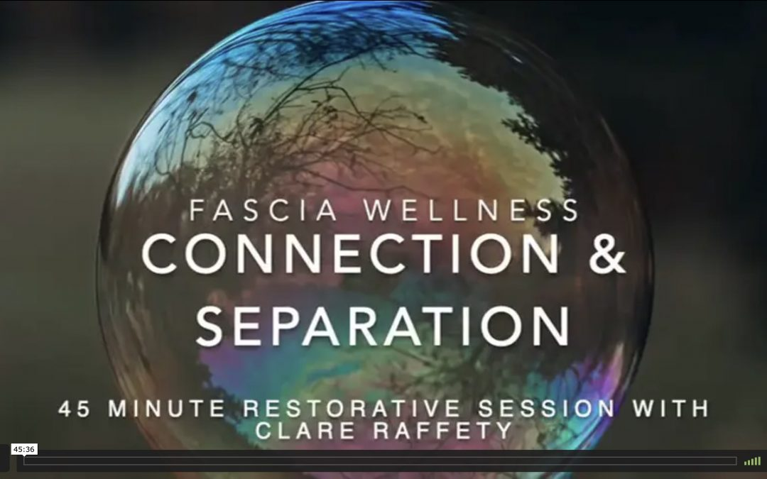 Fascia Wellness: Connection & Separation. Essential session