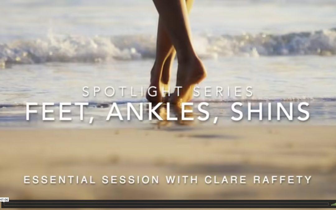Spotlight Series: feet, ankles, shins. Essential session