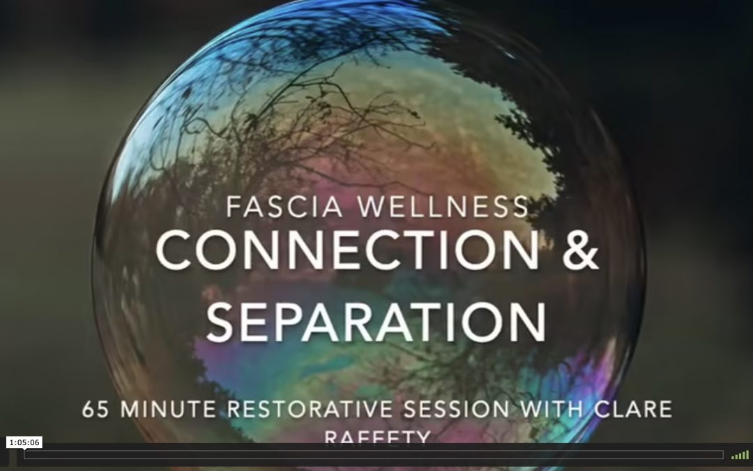 Fascia Wellness: Connection & Separation. Expansive session