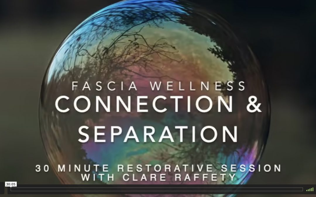 Fascia Wellness: Connection & Separation. Express session