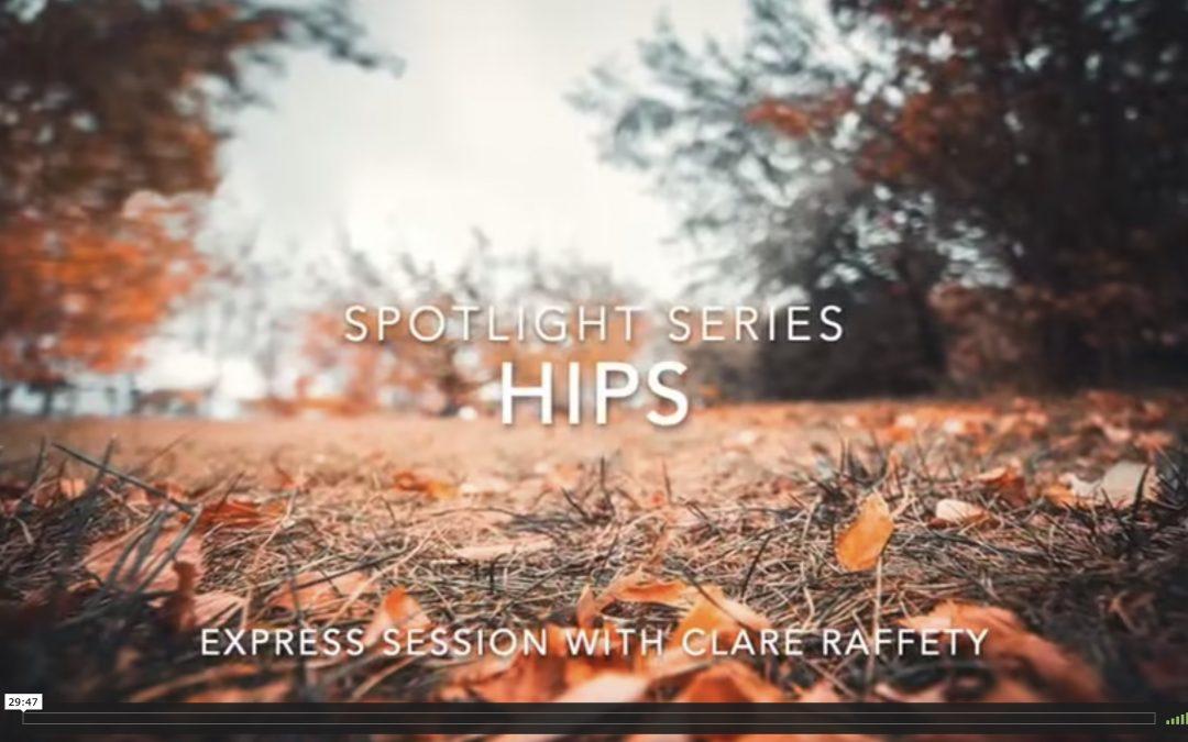 Spotlight Series: hips. Express session