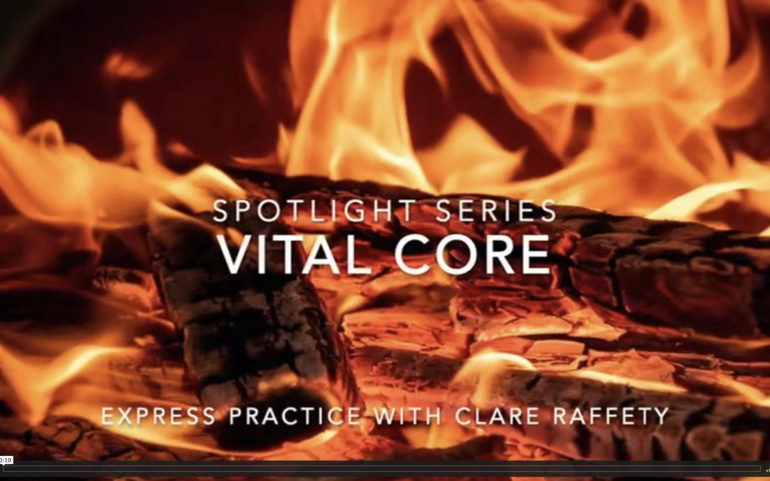 Spotlight Series: vital core. Express session