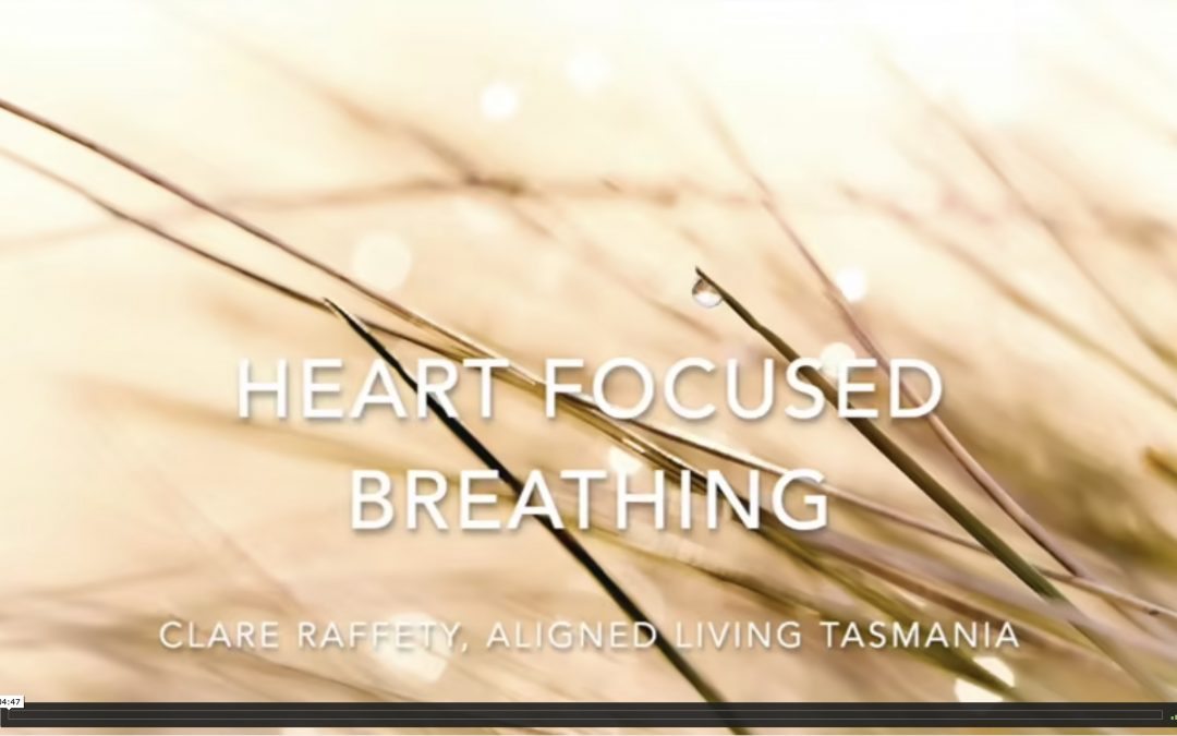 heart focused breathing for coherence