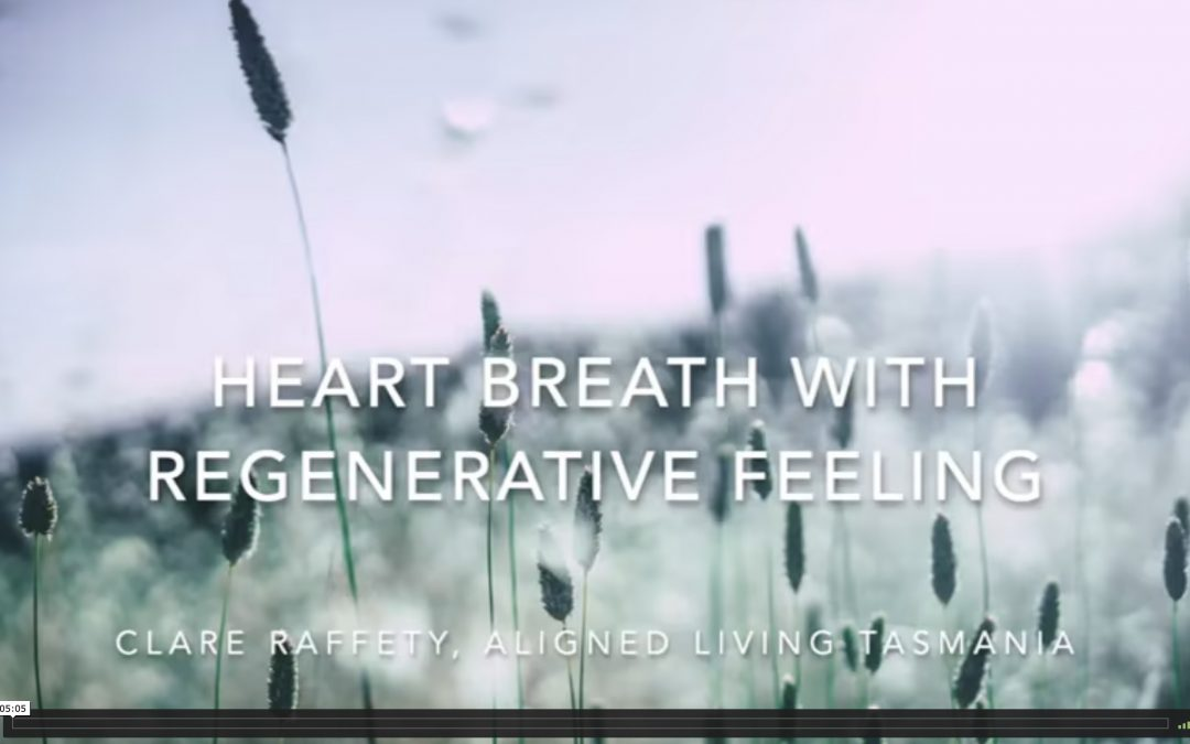 heart breath with regenerative feeling
