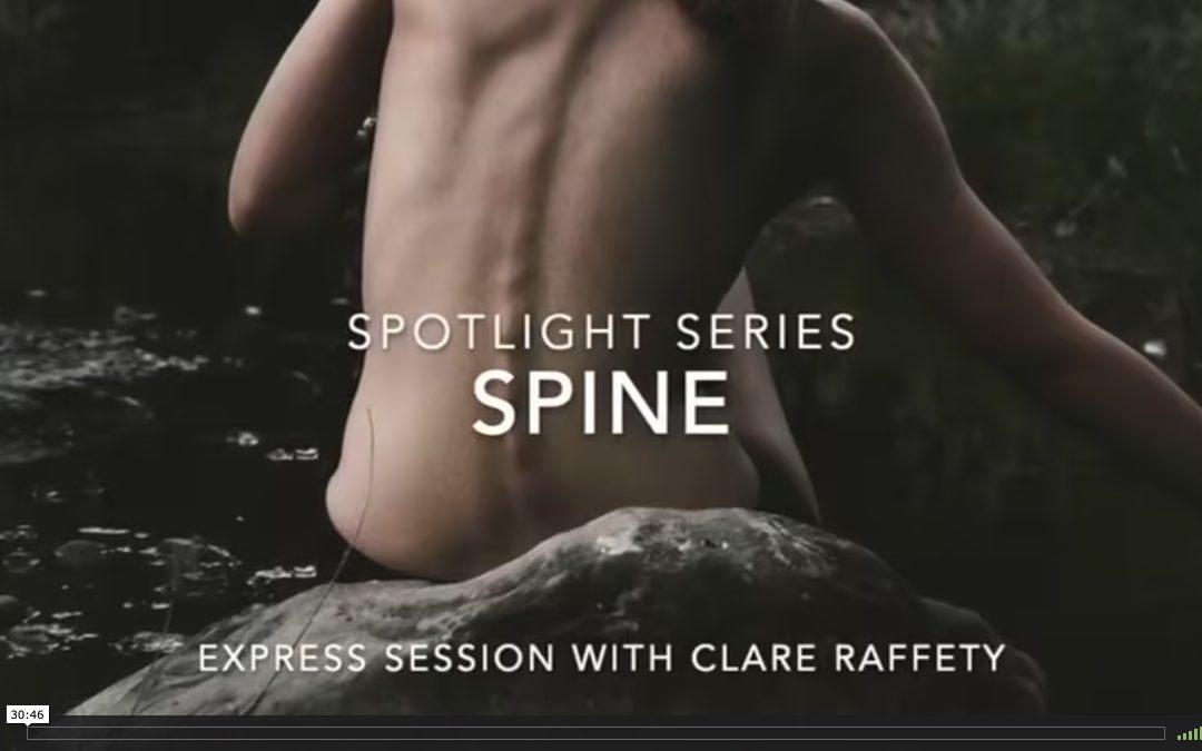 Spotlight Series: spine. Express session