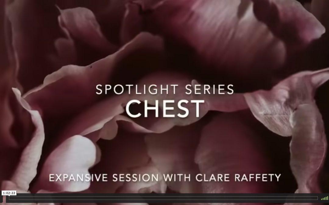 Spotlight Series: chest. Expansive session