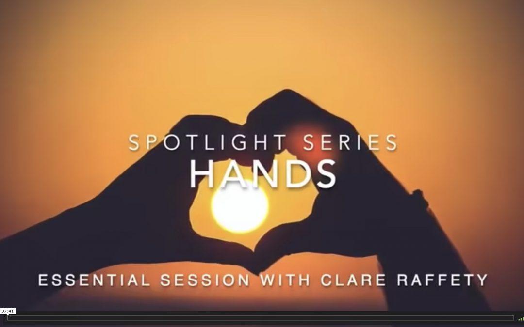 Spotlight Series: wrists & hands. Essential session