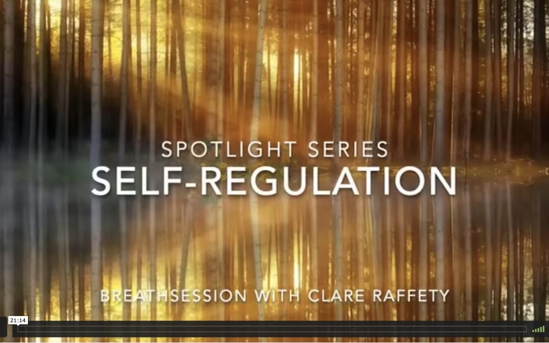 Spotlight Series: self-regulation, breath practice